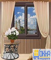 Ламинированные окна Киев - Купить ламинированное окно в Киеве