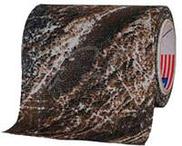 Маскировочная лента Allen Camo Cloth Tape (матерчатая). Размеры - 5 см х 9,15 м. Цвет - Mossy Oak Duck Blind.