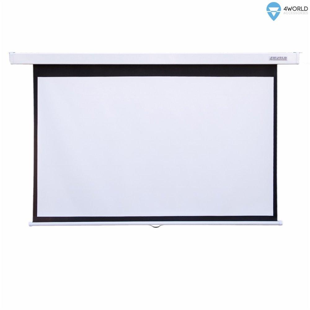 Проекционные экраны 4World 08442
