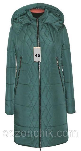 Куртка женская удлиненная зимняя от производителя