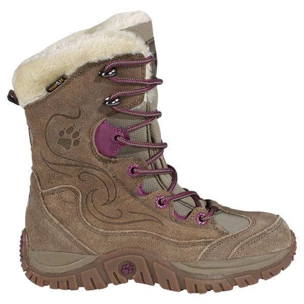 Зимние ботинки на девочку Jack Wolfskin