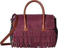 Бордовая сумка 'Sylvia' Sam Edelman