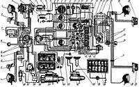 Схема электрооборудования трактора МТЗ-80