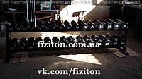Гантельный ряд от 12 до 40 кг, 780 кг + порошковая покраска + оцинкованные ручки