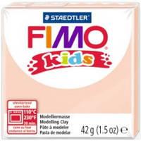 Фимо Кидс полимерная глина Fimo Kids 43, телесный. Германия.