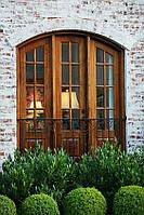 Деревянные окна  из евробруса  от ТМ Модерн