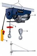Тельфер электрический, 1000 Вт, 500 кг, 5,7 м Einhell Blue BT-EH 500 2255530