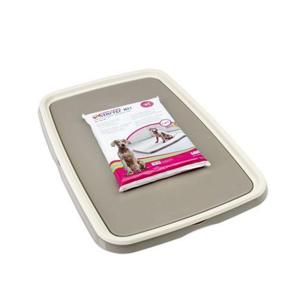 Savic Puppy Trainer 94.5 х 64.5 х 4 см - туалет-рамка под пеленку для собак и щенков + 7 пеленок
