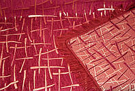 """Покрывало на диван, полуторную кровать. Гобелен двусторонний. """"Бамбук"""" цвет - бордо."""