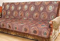 """Дивандеки """"Павлин"""" на диван и два кресла.  Цвет - коричневый."""