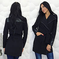 Женское пальто-тренч из кашемира