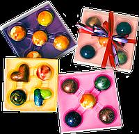 Подарочный набор из 4 конфет ручной роботы.
