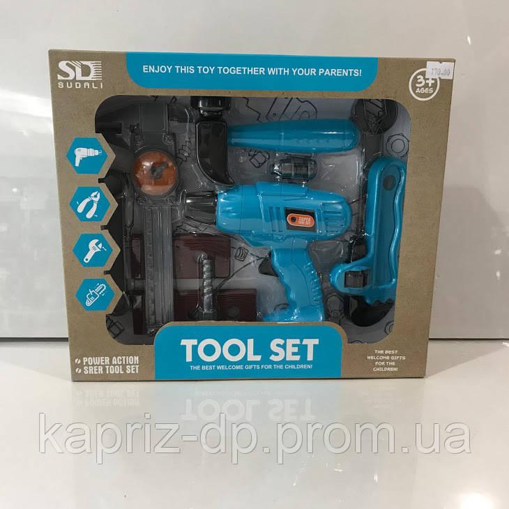 Набор инструментов, детские игрушки - Каприз - сеть магазинов косметики, подарков, детская игрушка, сувениры в Днепре