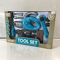 Большой набор инструментов, детские игрушки для мальчиков