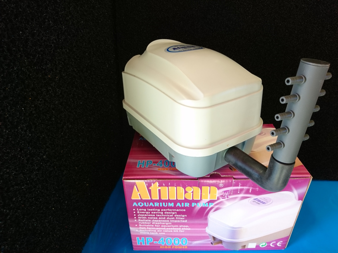 Компрессор ATMAN HP-12000, 110L/min, 60W,  0.032MPa