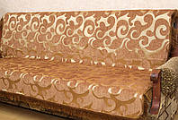 "Дивандеки ""Виток"" на диван и два кресла.  Цвет - коричневый."
