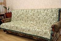 """Дивандеки """"Лилия"""" на диван и два кресла.  Цвет - салатовый."""