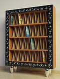 Шкаф Ш96 для виниловых пластинок в багетной раме, фото 2