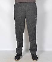 Штаны спортивные мужские рябые - зима увеличенные, фото 3