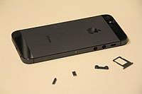 Крышка (корпус) iPhone 5 (серый)
