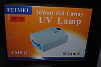 УФ лампа для наращивания ногтей Simei - 911 36W