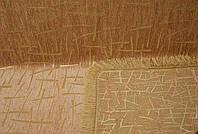 """Гобеленовое покрывало """"Бамбук"""" на большой диван. Цвет - золото."""