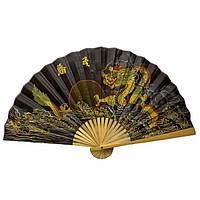 Веер на стену из бамбука и ткань