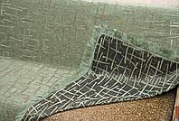 """Покрывало """"Бамбук"""" из двустороннего гобелена. Цвет - оливковый, размер 160*220"""