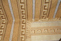 """Покрывало гобеленовое """"Фараон"""" на диван. Цвет - золото. Размер 160×220."""