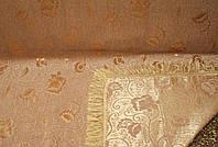 """Дивандек """"Пион"""" на кровать, диван.  Размер 160×220. Цвет - бежевый."""