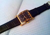 Часы мужские наручные Emporio Armani 2108 прямоугольные с календарем копия Черный, Черный копия