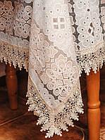 Скатерть размера (160*220 см) РОМАШКА на раскладной стол