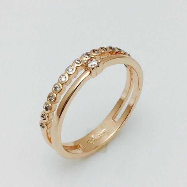 Женское кольцо Росинка, размер  19, 20 ювелирная бижутерия