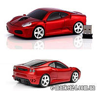 Красная беспроводная мышка для копьютера 3-кн, Ferarri, C2967R, red, art001505