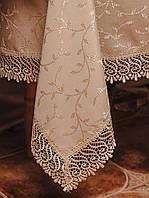 Скатерть с красивым кружевом размера 160*350