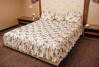 Покрывало с подушками  НЕЖНЫЙ ЦВЕТОК