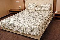 Покрывало 180*210 с оборками и подушками НЕЖНЫЙ ЦВЕТОК
