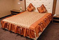 Покрывало с подушками для спальной комнаты
