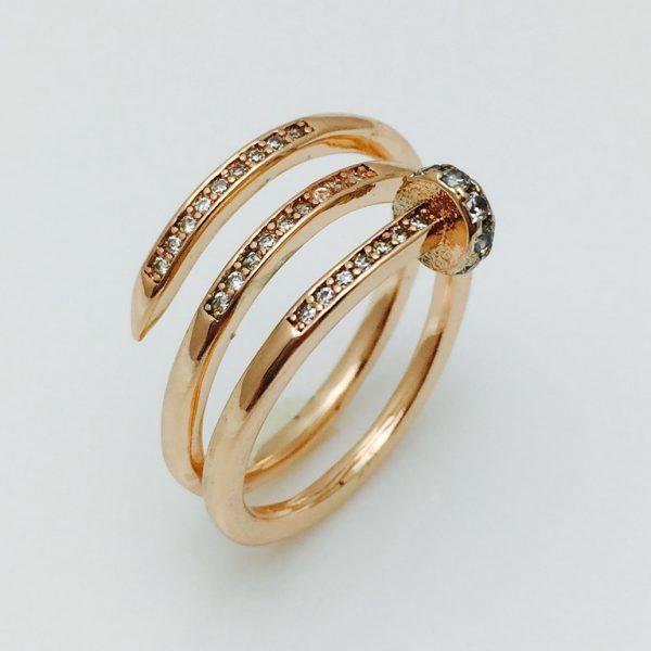 Женское кольцо Малика, размер 17, 19, 20 ювелирная бижутерия