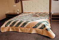 Шикарное покрывало-плед (210*240) на кровать со спинкой