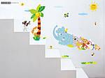 Интерьерная наклейка на стену Веселый Зоопарк (ay639), фото 6