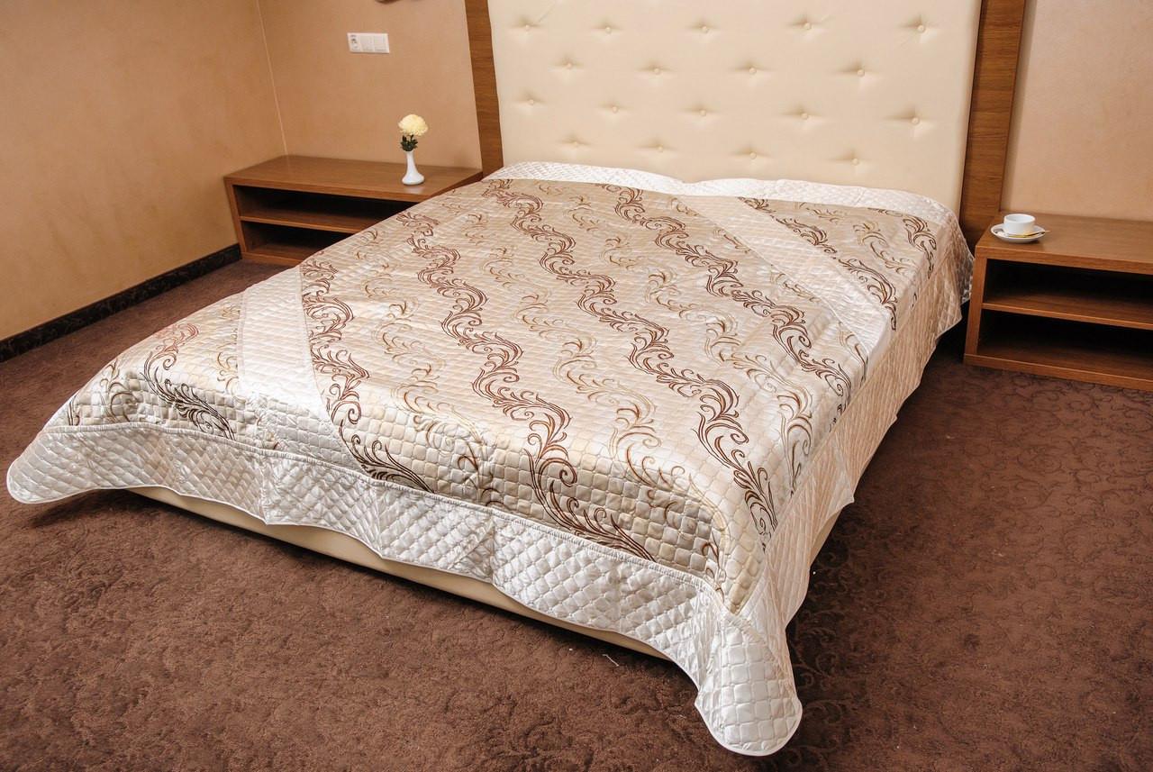 Покрывало стеганое на кровать евро размера. Покрывало (240 240) -  OptComfort в 3778e90d4511a