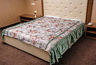 Покрывало (180*210) с рюшами на двуспальную кровать