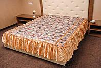 Покрывало 180*210 с рюшами для спальни