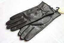 Красивые женские кожаные перчатки 804