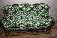 """Покрывало """"Зеленый цветок"""" на полуторную кровать"""