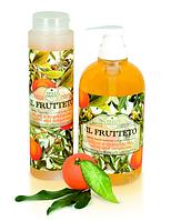 Мыло-гель для душа Фруктовый - Оливковое масло и мандарин  300 ml