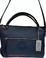 Женская сумка из экокожи с широким ремнем, фото 1