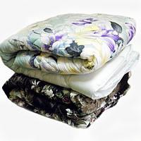 """Натуральное одеяло """"Премьера сатин"""" на двуспальную кровать"""