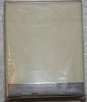 Двуспальная простынь на резинке 180*200